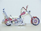Orange County Coppers Christmas Bike, ERTL Collectibles