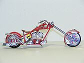 Orange County Coppers Fire Bike, ERTL Collectibles