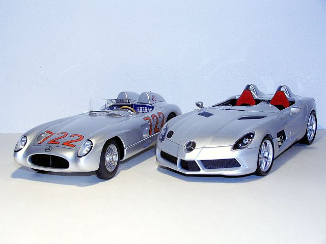 1 18 scale die cast models for Moss motors mercedes benz