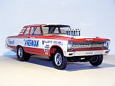 "Plymouth Belvedere ""The Virginian"" altered wheelbase dragster, Highway 61 Collectibles/Supercar Collectibles"