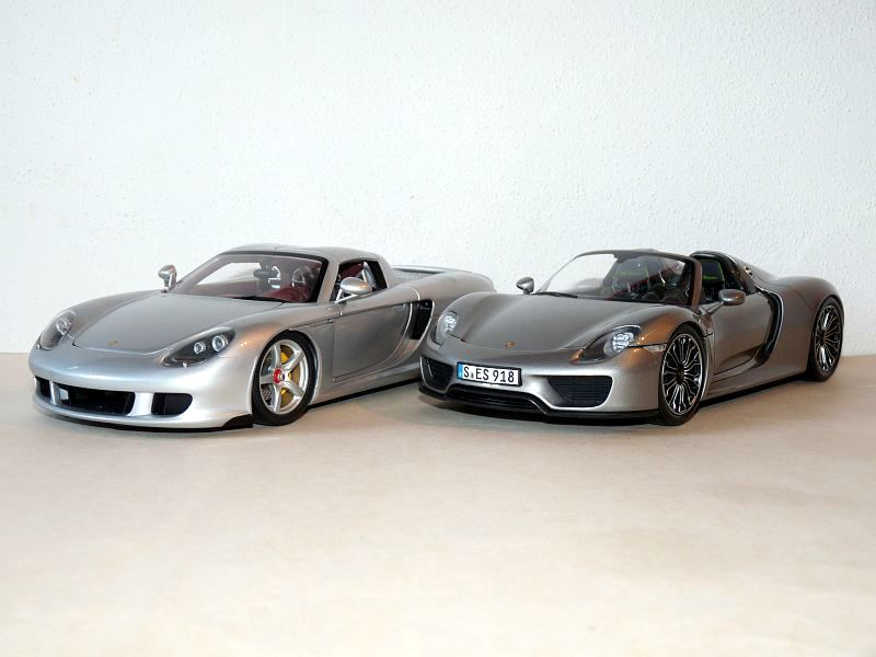 918 spyder with cgt ccx and laferrari porsche ruf diecast cars forums. Black Bedroom Furniture Sets. Home Design Ideas